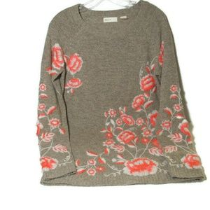 Anthropologie Sleeping on Snow Pullover Sweater S